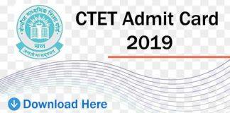 ctet-admit-card-2019