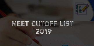 neet cut off list