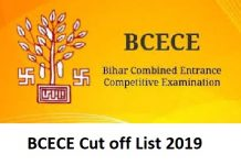 BCECE Cut off List 2019