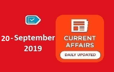 20 September Current Affairs