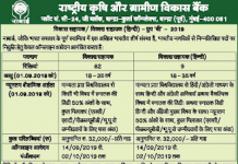 NABARD Recruitment 2019 Apply Online