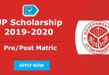 UP Scholarship Apply Online