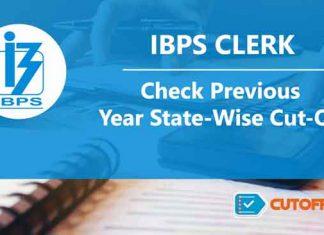 IBPS Clerk Cutoff list