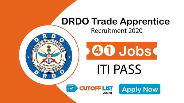 DRDO Trade Apprentice