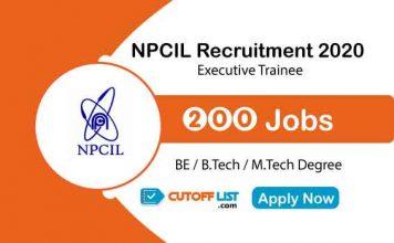 NPCIL Recruitment 2020
