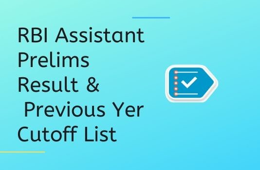 RBI Assistant Preliminary Examination