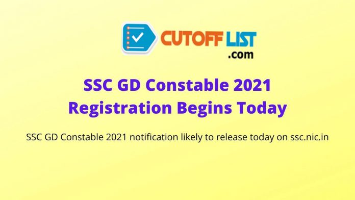 SSC GD Constable 2021 notification likely to release today on ssc.nic.in
