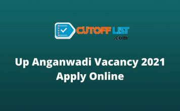 up anganwadi vacancy 2021 apply online