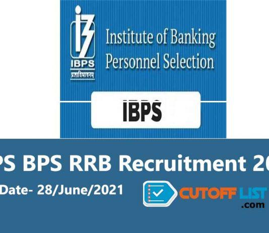 IBPS RRB (Rural Regional Bank) Recruitment 2021 Apply Online